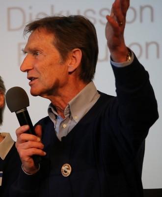 Im Engagement gegen die Atomkraft:PLAGE-Obmann Heinz Stockinger im Gespräch
