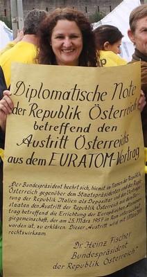 Raus aus EURATOM - Österreichtour kommt in Wien an!<br/>