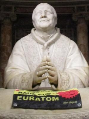 Antiatom-Kämpfer hofft auf päpstlichen Segen