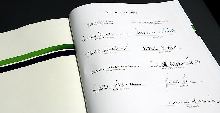 Koalitionsvertrag Bad-Württemberg - Für Revision des EURATOM-Vertrages!