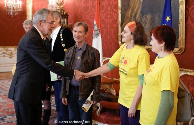 PLAGE trifft Bundespräsident<br/>
