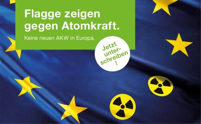 Online-Petition gegen neue Atomkraftwerke in Europa