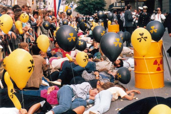 Heinz Stockinger über Anti-Atom-Proteste im Freien Fernsehen Salzburg